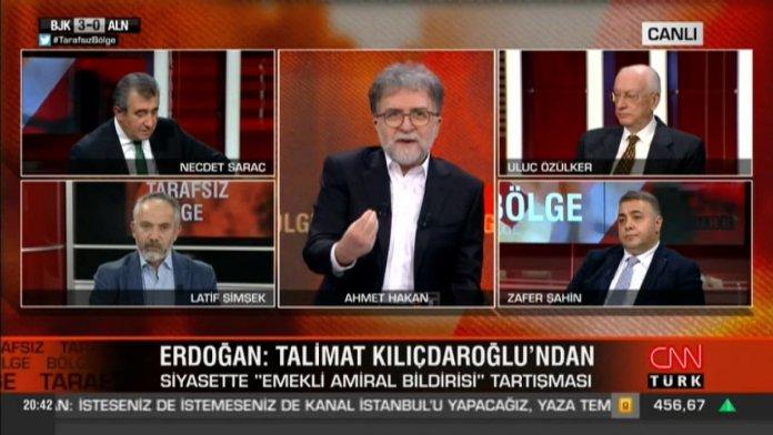Ahmet Hakan dan Hürriyet in yayınladığı haberle ilgili açıklama  #1