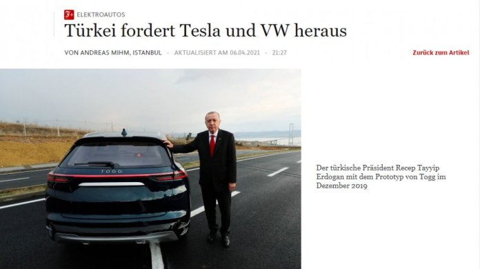 Alman basını: Türkiye yerli otomobille Tesla ve Volkswagen e meydan okuyor #1