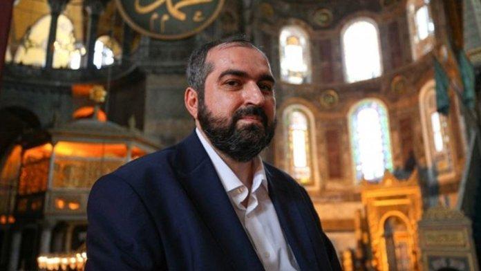 Ayasofya İmamı Mehmet Boynukalın dan açıklama #1