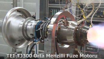 Türkiye nin ilk orta menzilli füze motoru TEI-TJ300, dünya rekoru kırdı #1