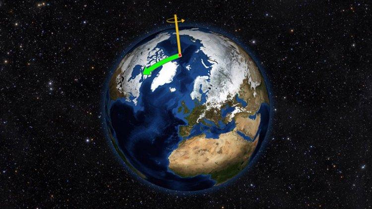 Küresel ısınma, Dünya nın eksenini değiştirdi #2