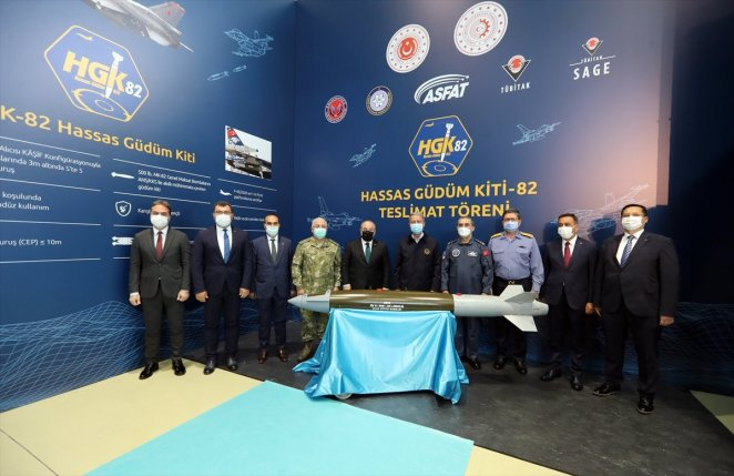 Delivery ceremony for Precision Guidance Kit-82 #2