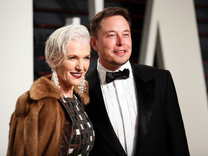 Maye Musk celebrated her son Elon Musk's birthday with a photo #3