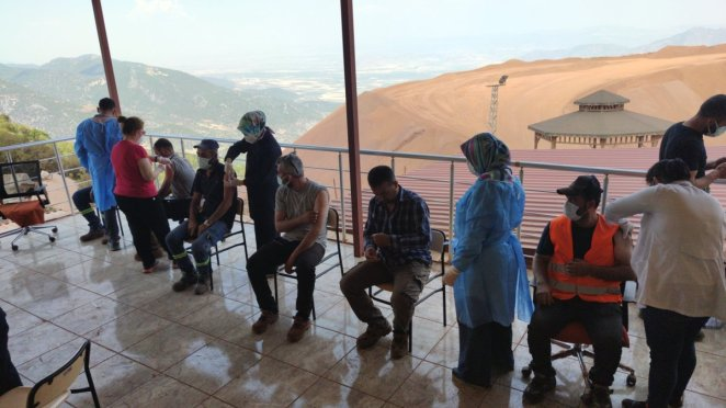 Vaccination on the slopes of Mount Amanos #2