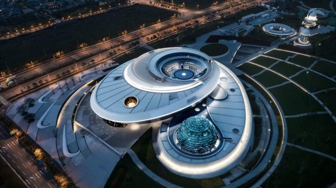 The world's largest astronomy museum opens in Shanghai #5