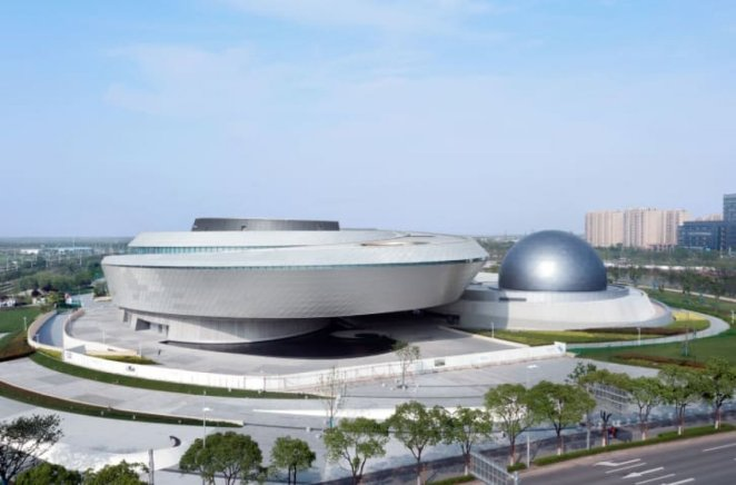 The world's largest astronomy museum opens in Shanghai #1