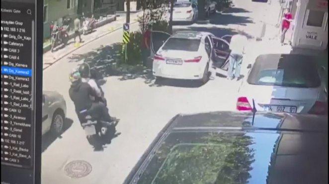 Şişli'de sağlık çalışanı, çalınan motosikletini iz sürerek buldu #1
