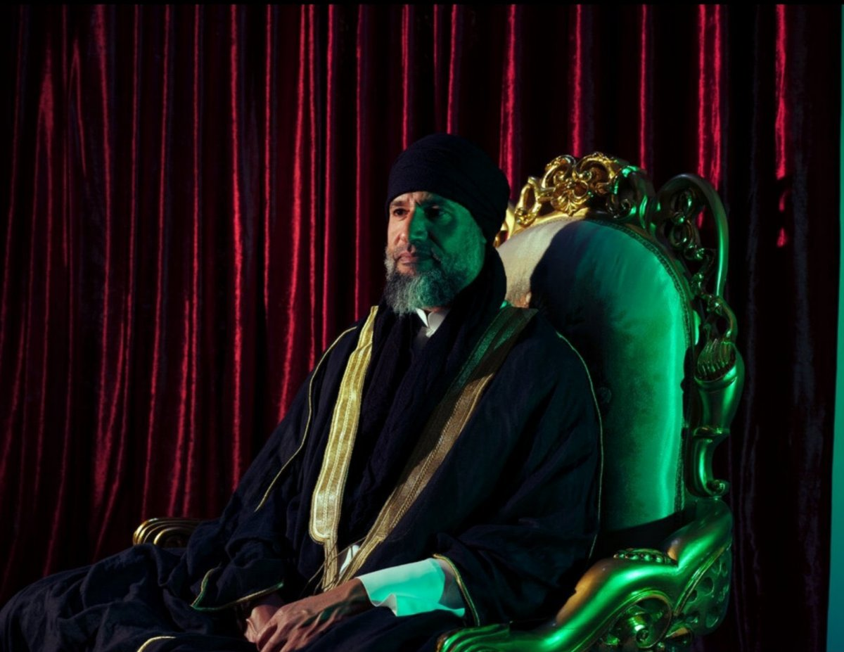 Kaddafi nin oğlu Seyfülislam Kaddafi yıllar sonra ortaya çıktı #2