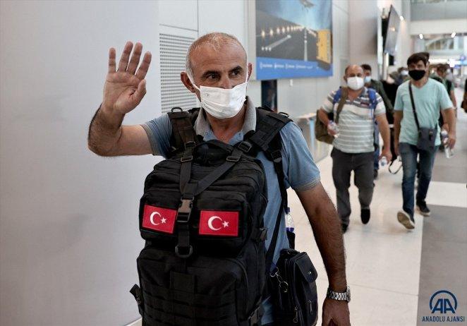 Kabil den Türkleri getiren THY uçağı İstanbul a iniş yaptı #8