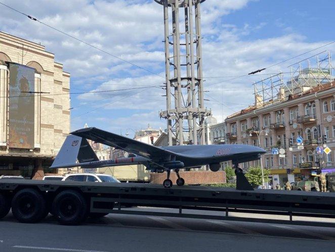 Bayraktar TB2 #1 on the streets of Ukraine