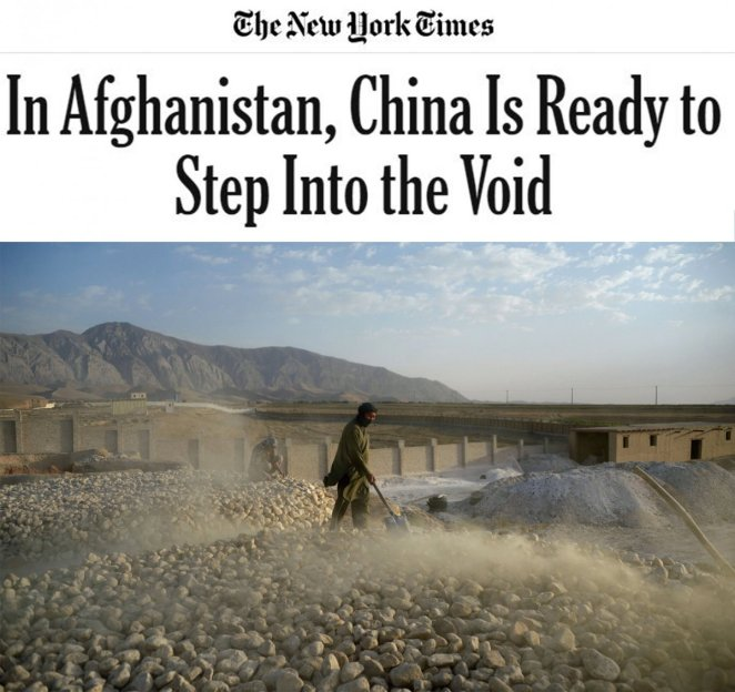 New York Times: China ready to fill the gap in Afghanistan #2