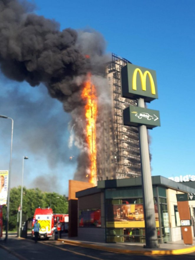Fire #2 in a 15-storey building in Italy