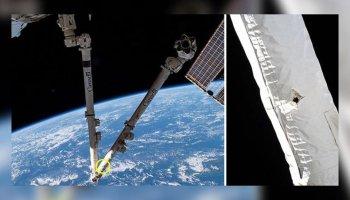 Uluslararası Uzay İstasyonu nda duman alarmı sesleri #1
