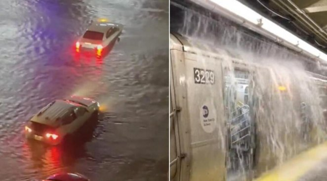 Ida kasırgası, New York u su altında bıraktı #6