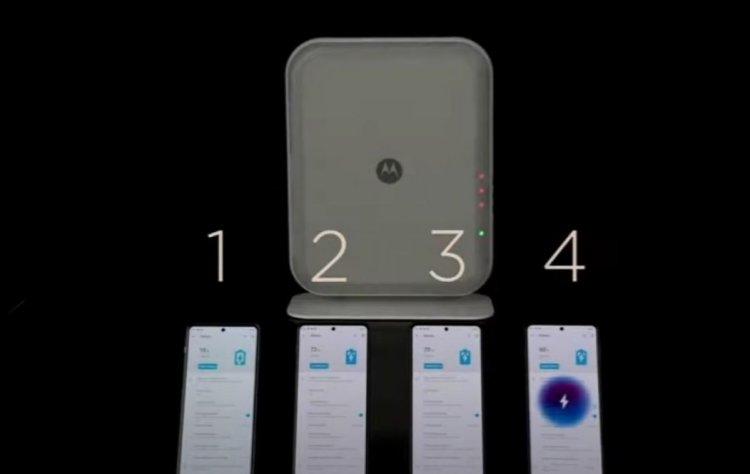 Motorola dan telefonları havadan şarj eden teknoloji #1