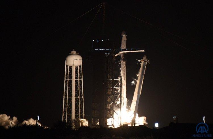 SpacX roketi, başarılı bir şekilde fırlatıldı #2