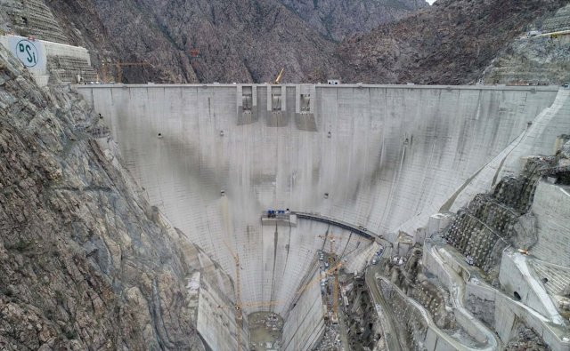Yusufeli Barajı nda sona doğru #1