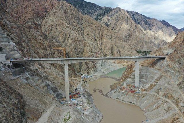 Yusufeli Barajı nda sona doğru #21