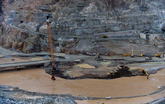 Yusufeli Barajı nda sona doğru #13