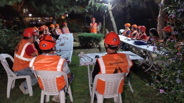 Bursa da her mahallede afet gönüllüleri yetiştiriliyor #4
