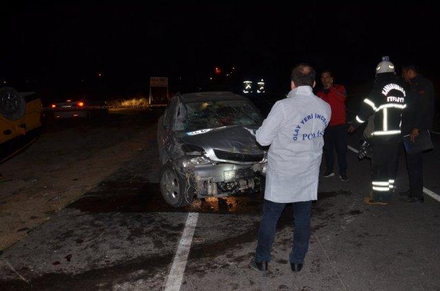Kahramanmaraş'ta 4 aracın karıştığı kazada 6 kişi yaralandı #3