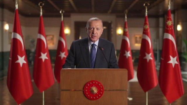 Cumhurbaşkanı Erdoğan dan Küresel Koronavirüs Zirvesi ne video mesaj #1