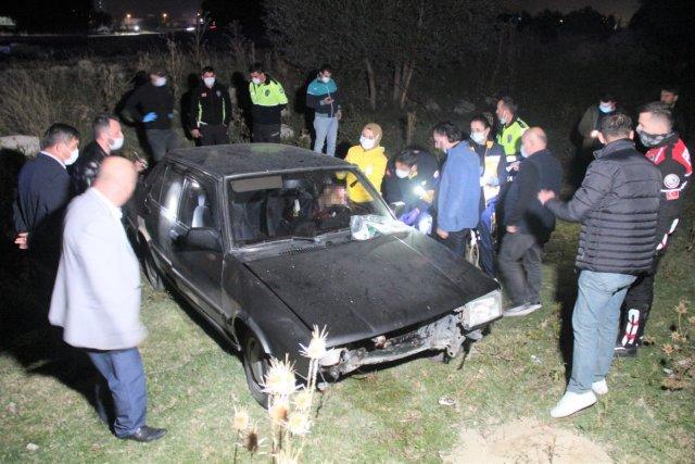 Kütahya da bir şahıs, aracında başından silahla vurulmuş halde bulundu #2