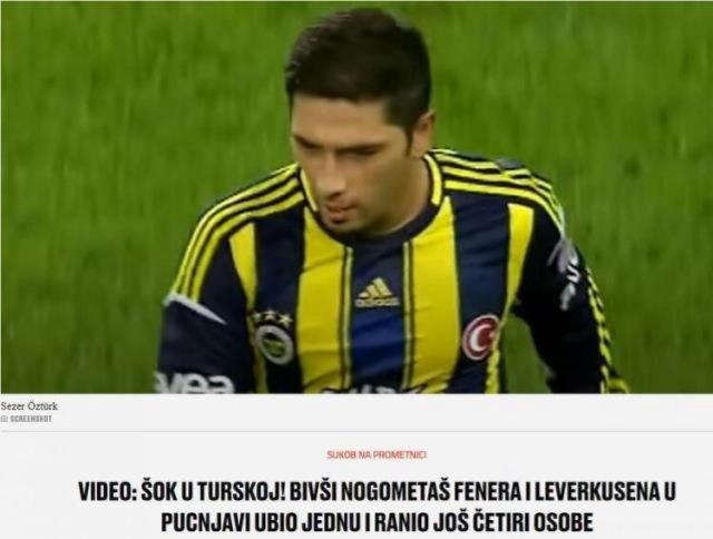Eski futbolcu Sezer Öztürk, dünya basınında konuşuluyor #3