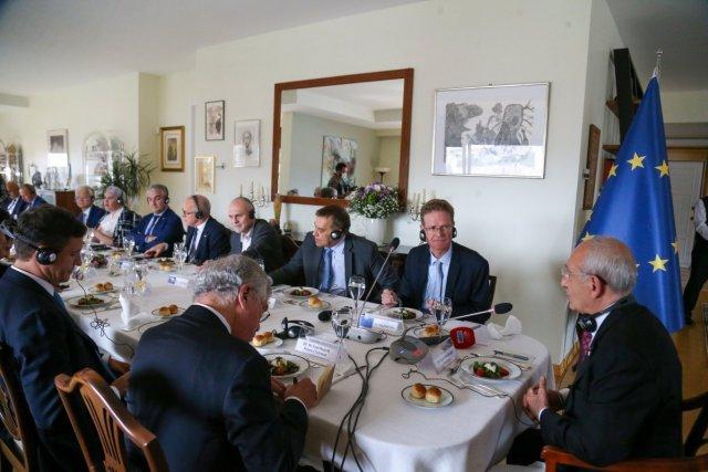 Kemal Kılıçdaroğlu, büyükelçilerle yemekte buluştu  #4