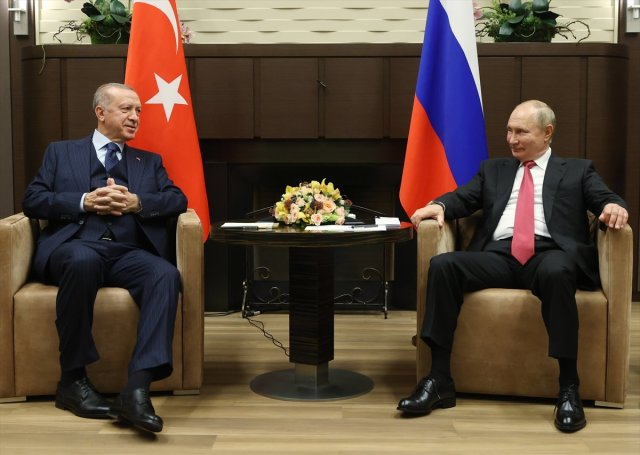 Cumhurbaşkanı Erdoğan ile Putin arasında gülümseten S-400 diyaloğu #1