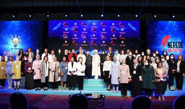 Emine Erdoğan: Eğitimleri yarıda kalan kadınlarımız okula devam edecek #2