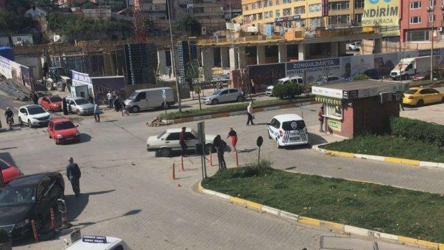 Zonguldak ta tartıştığı kadının üzerine otomobilini sürdü #4