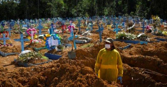 Brezilya da koronadan ölenlerin sayısı 600 bini geçti #2