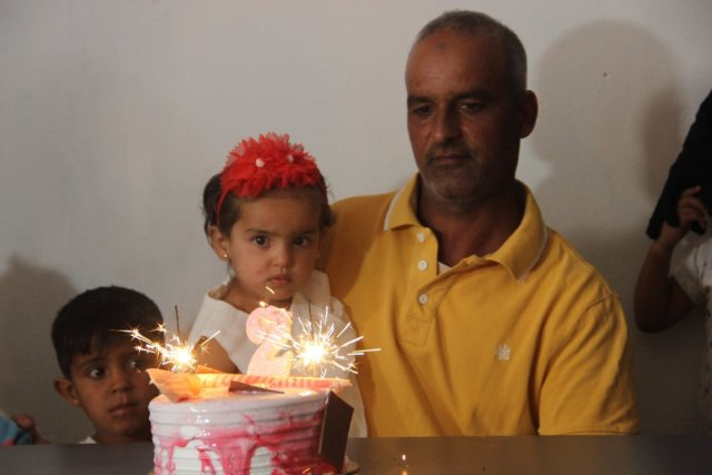 Barış Pınarı Harekatı sırasında doğan Pınar'a, askerlerin doğum günü sürprizi  #1