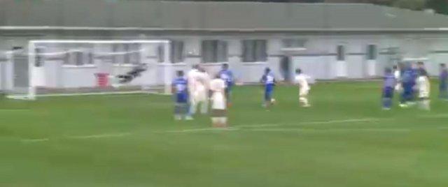 Ömer Bayram dan Tuzla ya frikik golü #2