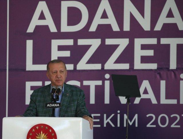 Cumhurbaşkanı Erdoğan, 5. Uluslararası Adana Lezzet Festivali nde #1