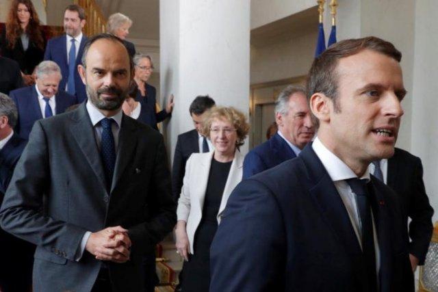 Fransa nın eski Başbakanı Philippe, Macron için parti kurdu #1