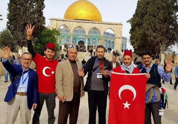 Mescid-i Aksa'da gözaltına alınan Türkler serbest kaldı