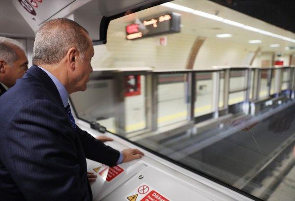 Üsküdar-Çekmeköy metrosu açıldı