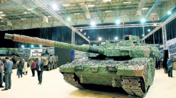 Altay tankı özellikleriyle göz dolduruyor
