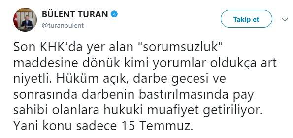 AK Parti'den sivillere ceza muafiyetiyle ilgili açıklama