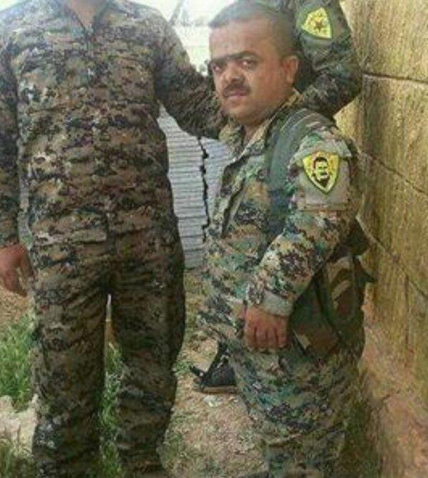 YPG'li teröristlerin maskotu
