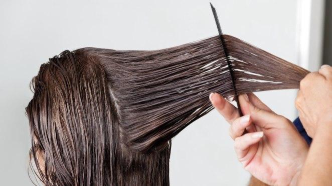 Excess hair straightening is harmful #1
