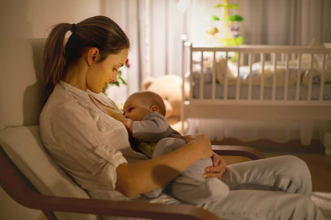 Healthy eating advice for breastfeeding mothers #1