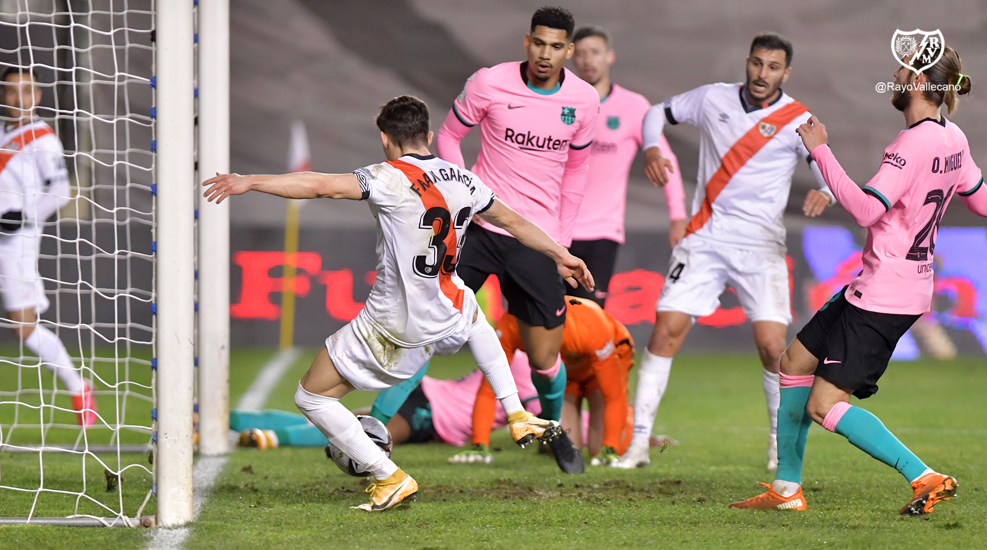 Another matchday, another loss for fc barcelona. Watch Rayo Vallecano Take Shock Second Half Lead Against Barcelona Football Espana