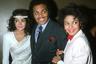 Джозеф Джексон с дочерьми Джанет и Ла Тойей, 1983 год
