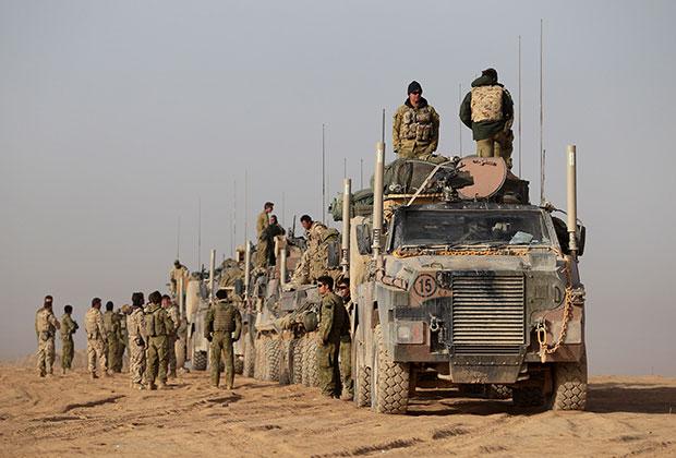 Австралийские военные в провинции Урузган Фото: Angela Wylie / The AGE / Fairfax Media via Getty Images via Getty Images