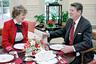 Suzanne Massie and Ronald Reagan