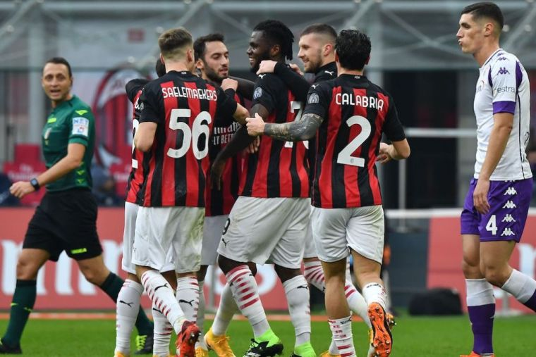 AC Milan vs Fiorentina (Serie A) Highlights November 29, 2020 VIDEO