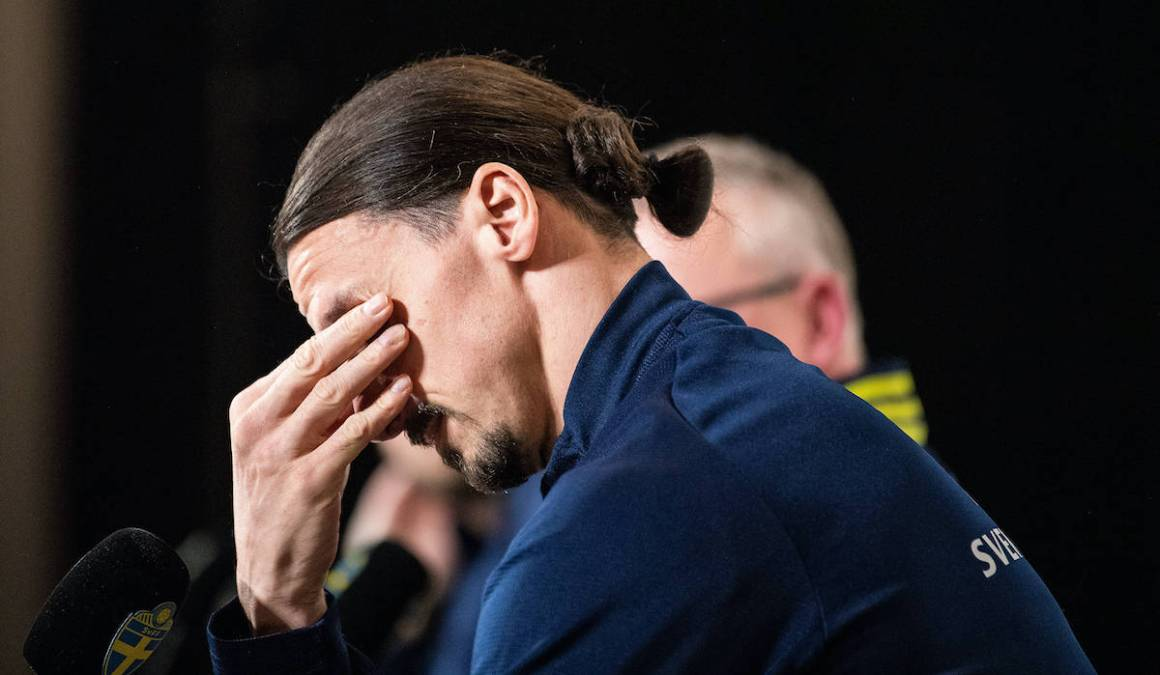 Watch: Ibrahimovic moved to tears when discussing reaction of his children  to Sweden comeback
